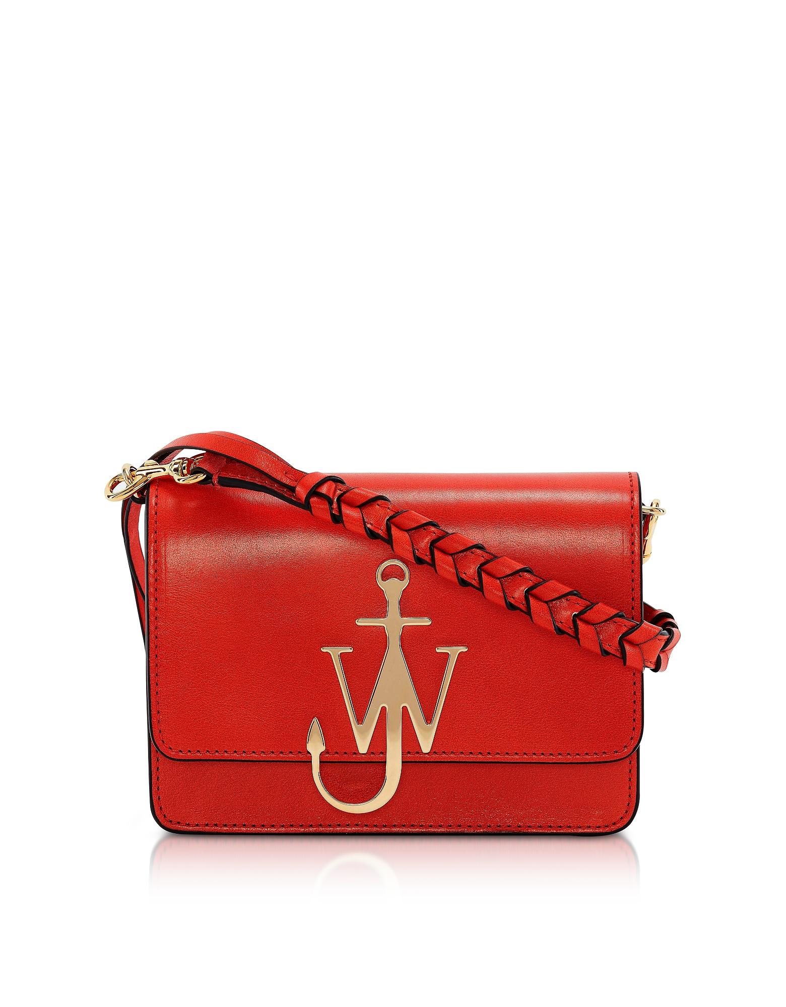 JW Anderson Designer Handbags, Anchor Logo Bag w/Braided Strap