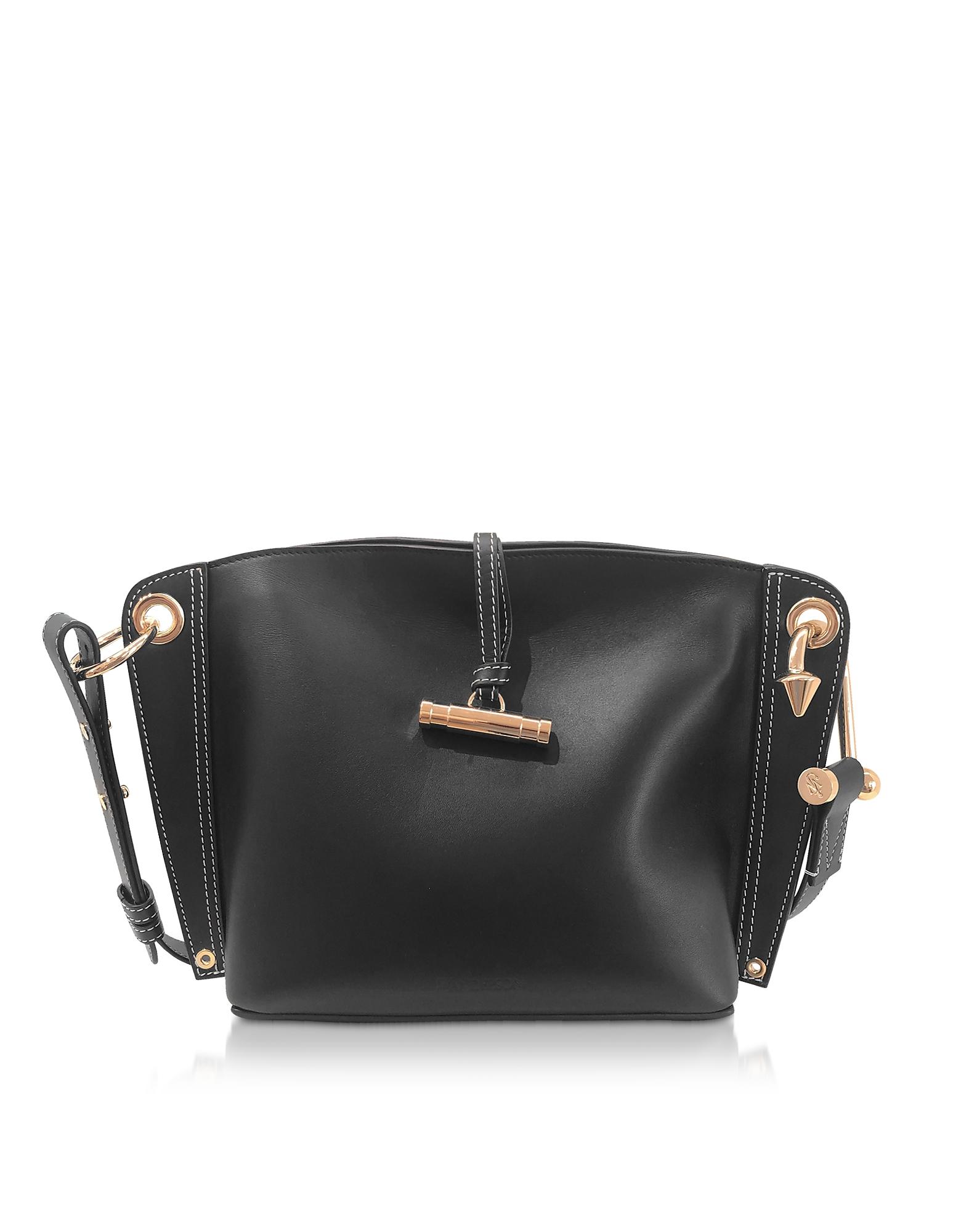 Small Hoist Shoulder Bag, Black