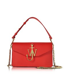 Scarlet Red Logo Purse - J.W. Anderson