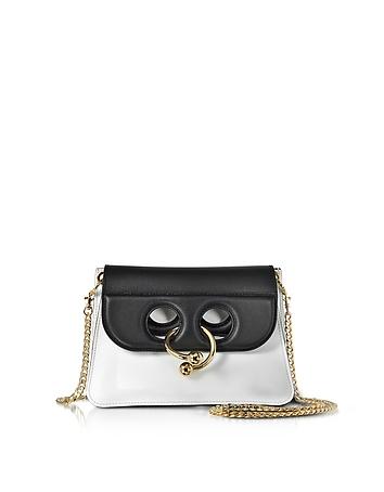 J.W. Anderson - White and Black Mini Pierce Bag