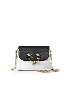White and Black Mini Pierce Bag - J.W. Anderson