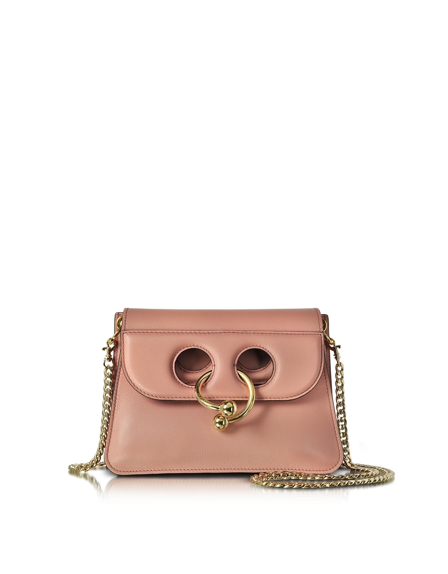 JW Anderson Handbags, Dusty Rose Mini Pierce Bag
