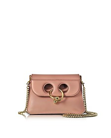Dusty Rose Mini Pierce Bag - J.W. Anderson