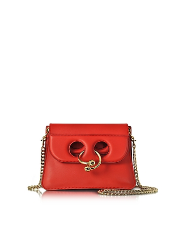J.W. Anderson - Scarlet Red Mini Pierce Bag