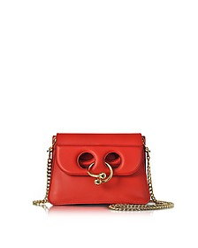 Scarlet Red Mini Pierce Bag - J.W. Anderson
