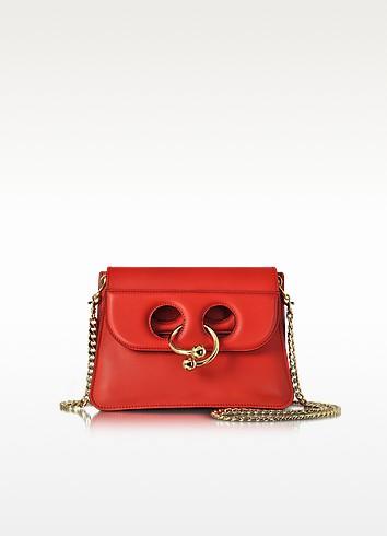 Scarlet Red Mini Pierce Bag - J.W. Anderson