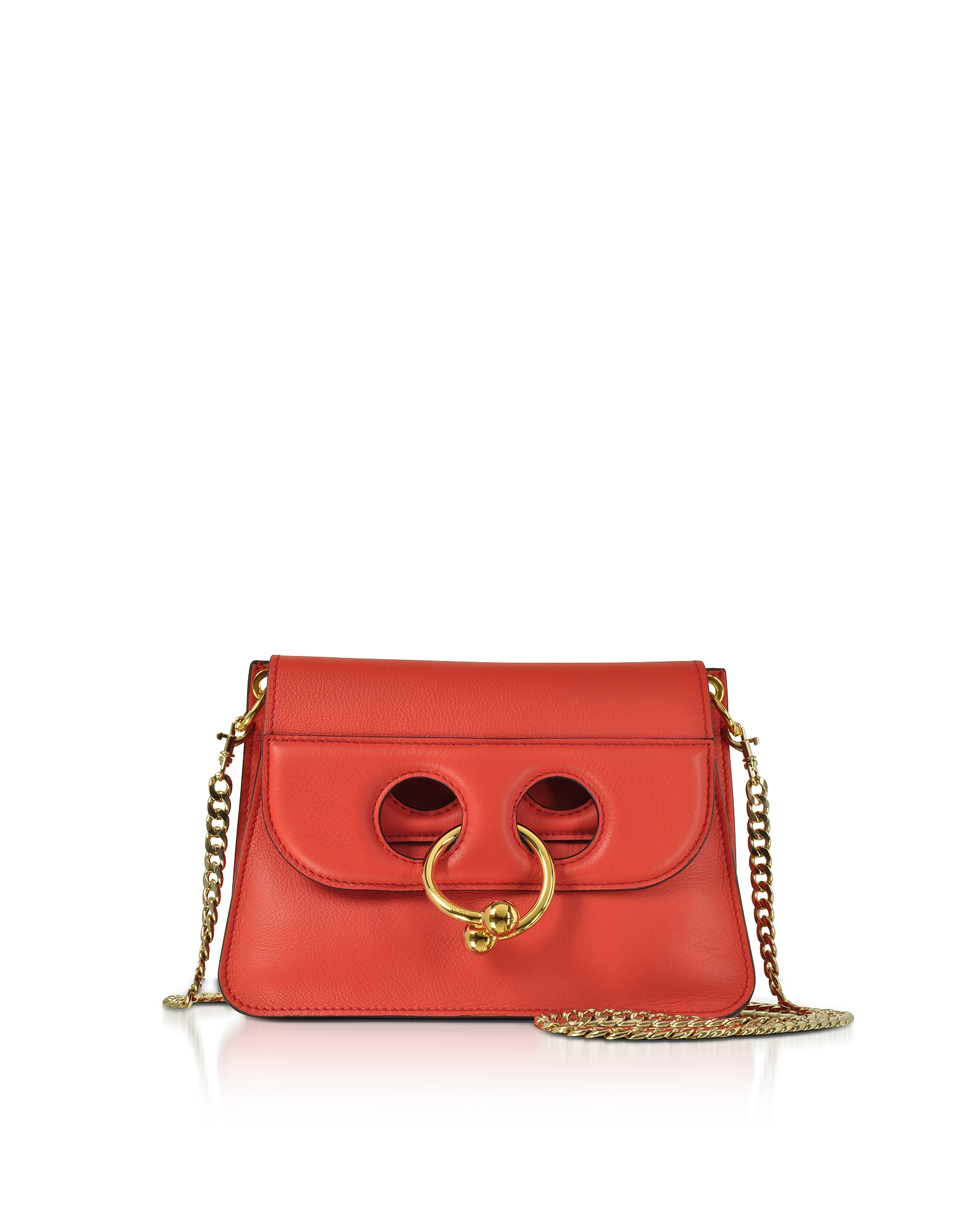 JW Anderson Handbags, Scarlet Red Mini Pierce Bag