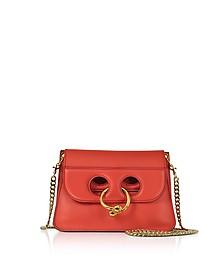 Scarlet Mini Pierce Handtasche in rot - J.W. Anderson