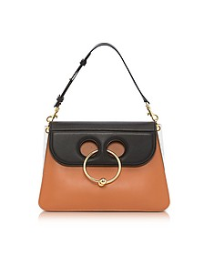 Color Block Leather Medium Pierce Bag - J.W. Anderson