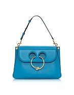 J.W. Anderson Cerulean Blue Medium Pierce Bag jw130317-024-00