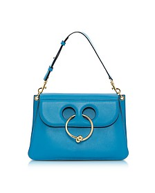 Cerulean Blue Medium Pierce Bag - J.W. Anderson