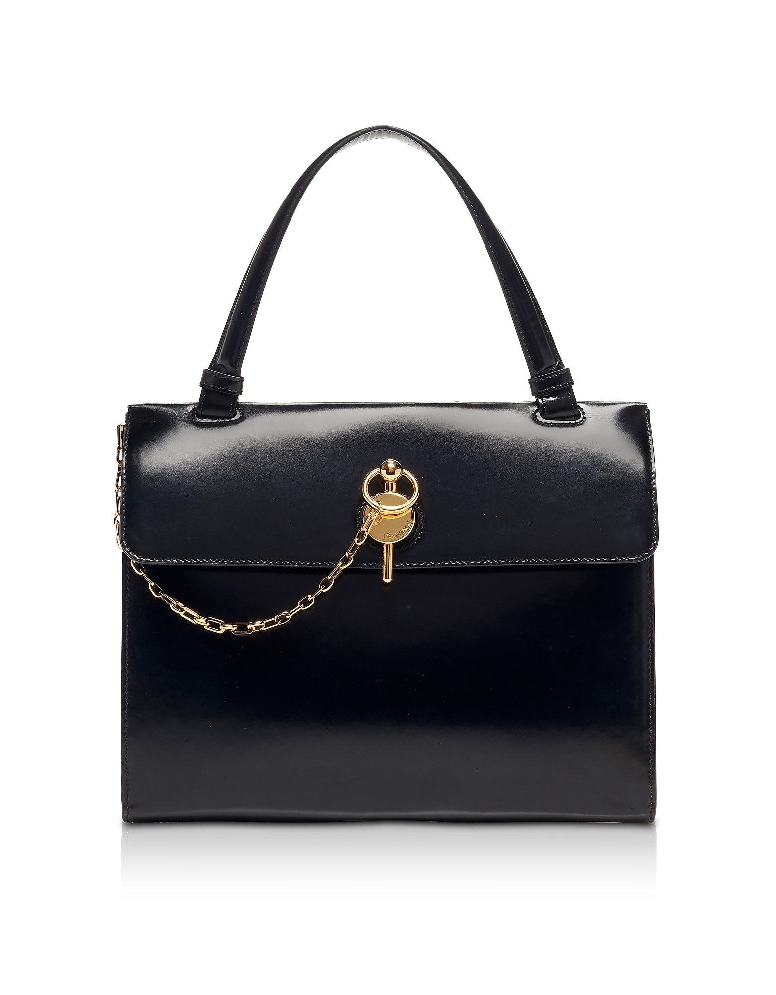 Black Lady Keyts Top Handle Bag