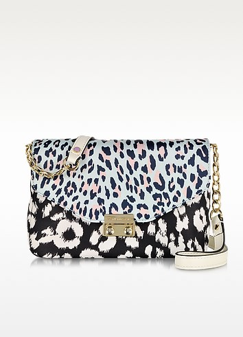 Nylon Printed Rosewood Crossbody - Juicy Couture