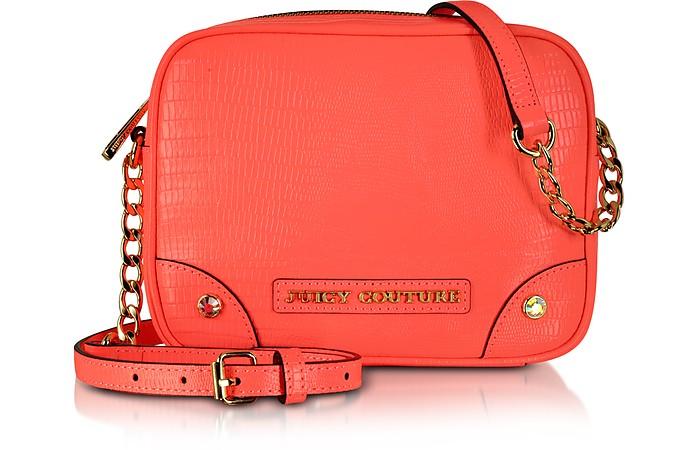 Sierra Sorbet Leather Camera Crossbody Bag - Juicy Couture