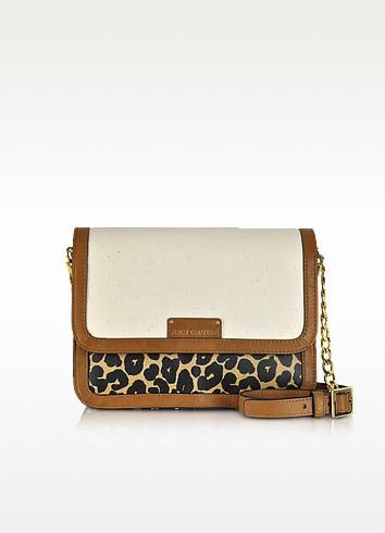 Laurel Leopard Coated Canvas Crossbody Bag - Juicy Couture