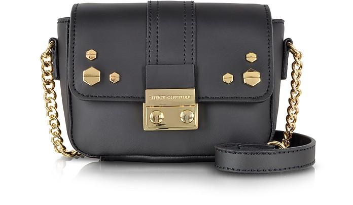 Brentwood Leather Mini G Crossbody Bag - Juicy Couture