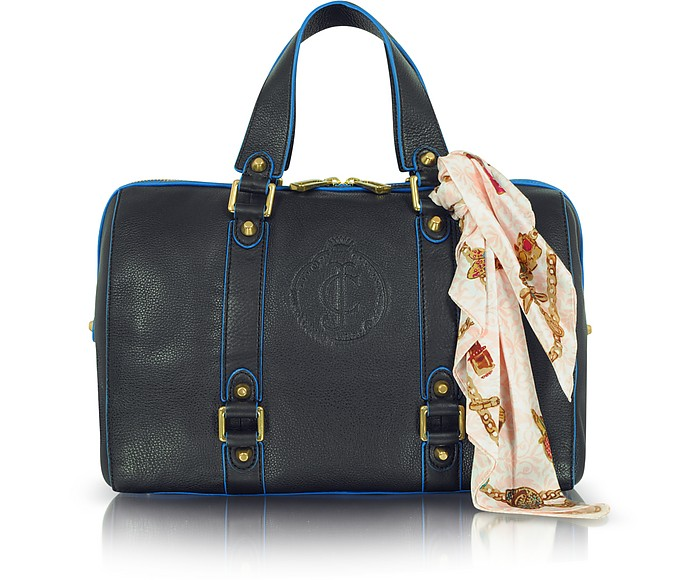 Essentially Everyday Steffy Leather Satchel - Juicy Couture