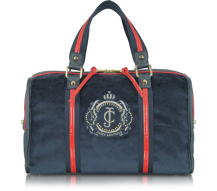 Sailor Girl Iconic Velour Steffy Satchel - Juicy Couture