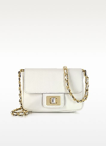 Bright Leather Mini G Shoulder Bag - Juicy Couture