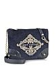 Velour Louisa Flat Crossbody Bag - Juicy Couture