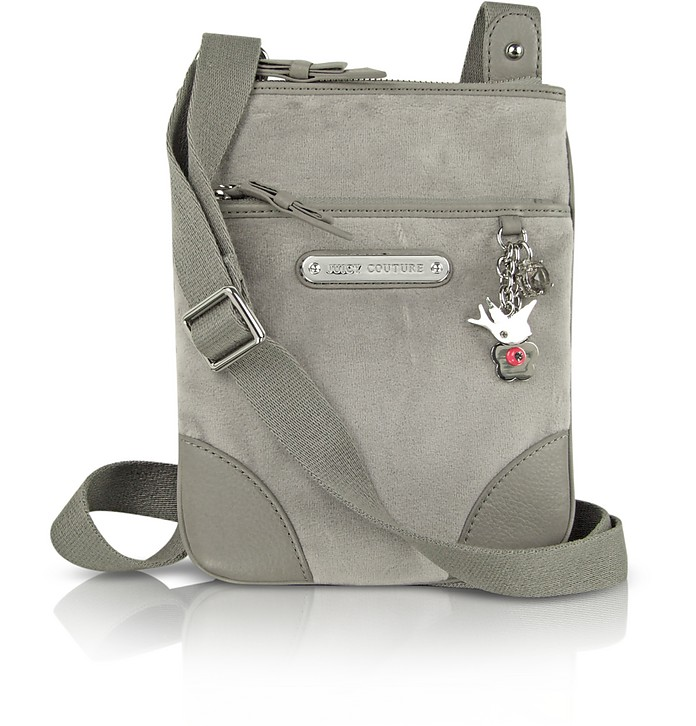Go Steady Velour Crossbody Bag - Juicy Couture