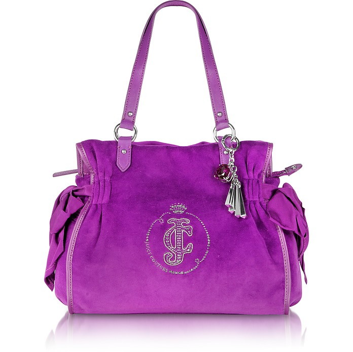 Large Velour Daydreamer Tote - Juicy Couture
