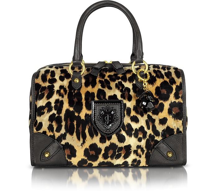 Steffy Animal Print Satchel - Juicy Couture