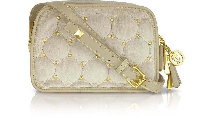 Frannie Studded Quilted Shoulder Bag - Juicy Couture