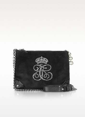 Louisa All Hail Velour Crossbody - Juicy Couture
