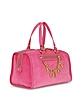 Iconic Charm Velour Steffy Satchel - Juicy Couture