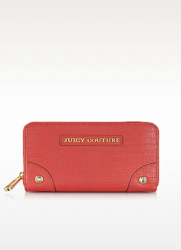 Red Ginger Sierra Zip Continental Wallet - Juicy Couture