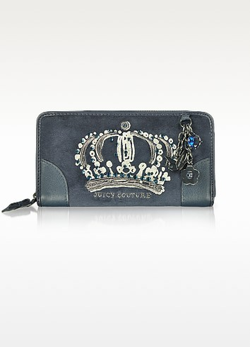 Crown of Couture Zip Wallet - Juicy Couture