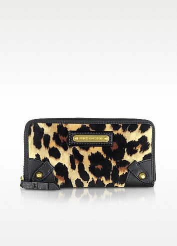Animal Print Zip Around Wallet - Juicy Couture