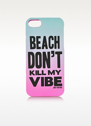 Beach Don't Kill My Vibe iPhone Case - Juicy Couture