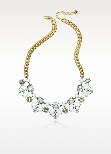 Crystal and Golden Metal Necklace - Juicy Couture