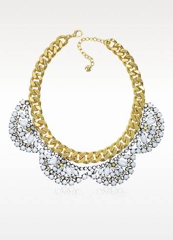 Flower Cluster Collar Necklace - Juicy Couture