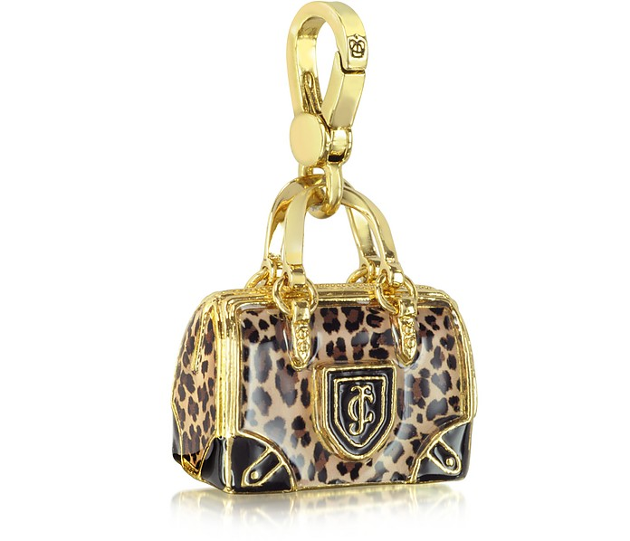 Leopard Handbag Charm - Juicy Couture