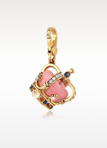 Gold Crown Charm - Juicy Couture