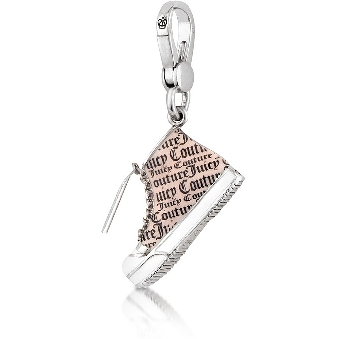 Silver High-Top Charm - Juicy Couture