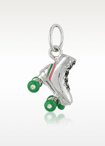 Mini Rollerskate Charm - Juicy Couture