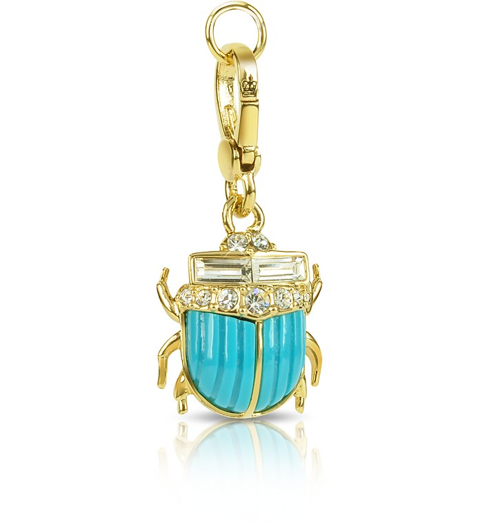 Blue Scarab Charm - Juicy Couture
