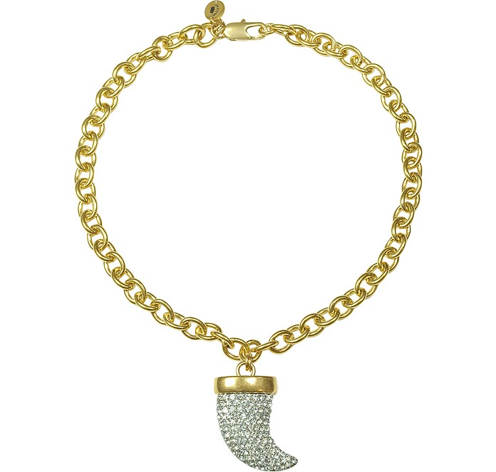 Pave Horn Chunky Necklace - Juicy Couture
