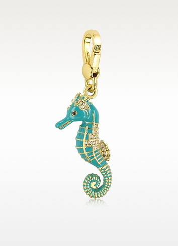 Blue Seahorse Charm - Juicy Couture