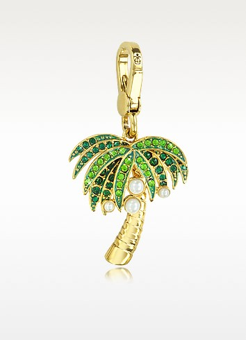 couture palm tree charm at forzieri