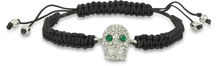 Pave Skull Friendship Bracelet - Juicy Couture