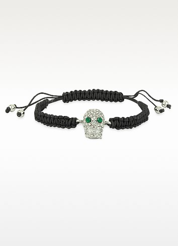 Pave Skull Friendship Bracelet - Juicy Couture