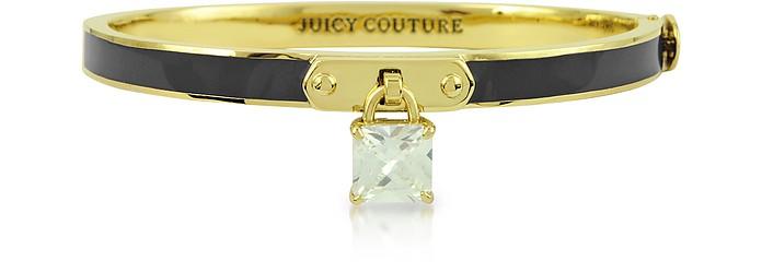 Skinny Enamel Padlock Hinge Bangle - Juicy Couture