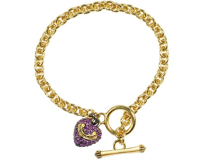 Pave Heart Wish Bracelet - Juicy Couture