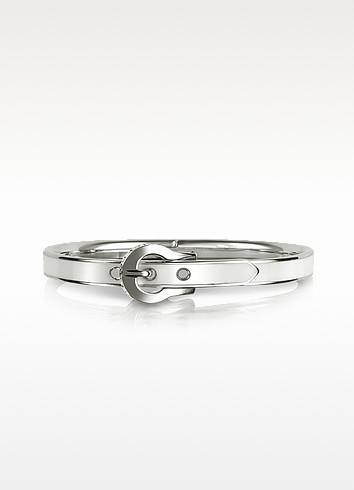 Skinny Enamel Buckle Bracelet - Juicy Couture