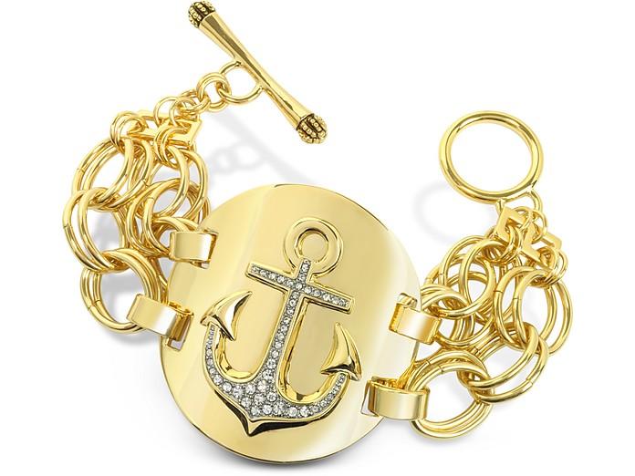 Double Chain Anchor Bracelet - Juicy Couture